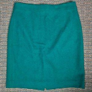 Jcrew Wool Pencil Skirt Size 10